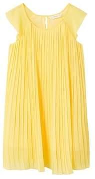 MANGO Flowy pleated dress