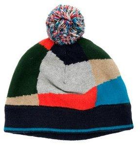 Paul Smith Boys' Pom-Pom Knit Beanie