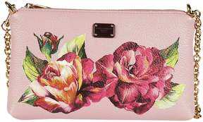 Dolce & Gabbana Floral Print Clutch - PINK - STYLE