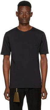 Lemaire Black Crewneck T-Shirt