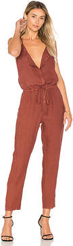 Enza Costa French Linen Jumpsuit