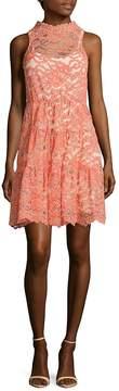 Erin Fetherston ERIN by Women's Posie Scalloped Lace Dress