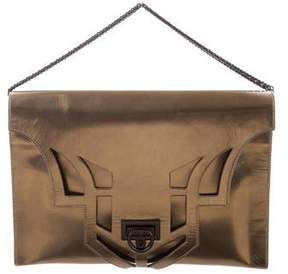 Reece Hudson Metallic Leather Bag