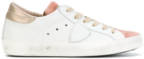 Philippe Model contrast tongue sneakers