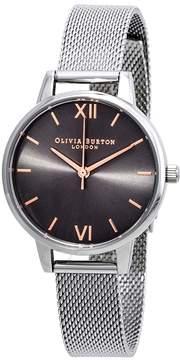 Olivia Burton Grey Dial Ladies Watch