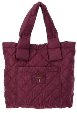 Marc Jacobs Nylon Knot Tote. - PLUM - STYLE