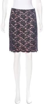 Laundry by Shelli Segal Lace Mini Skirt