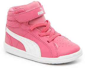 Puma Girls Ikaz Infant & Toddler High-Top Sneaker