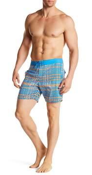 Mr.Swim Mr. Swim Flat Plaid Swim Trunks