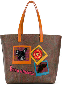 Etro Memories tote bag