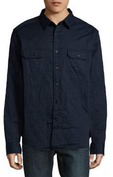Nautica Quilted Twill Shirt Jacket