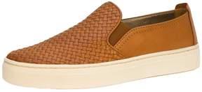 The Flexx Brown Woven Sneaker