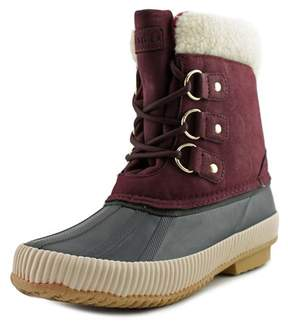 Tommy Hilfiger Ebonie Women US 8 Burgundy Winter Boot