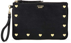 Victoria's Secret Victorias Secret Heart Stud Night Out Wristlet