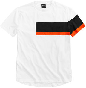 Armani Exchange Men's Side Stripe T-Shirt
