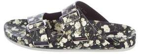 Givenchy Floral Slide Sandals w/ Tags