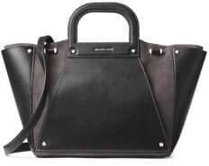 MICHAEL Michael Kors Large Clara Convertible Leather Tote