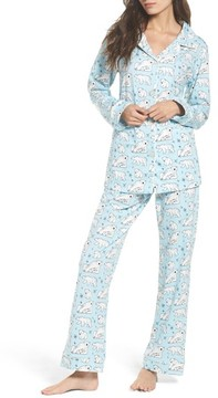 BedHead Women's Polar Bear Print Pajamas