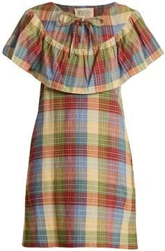 Ace&Jig Clifton checked cotton-blend dress