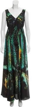 Figue Silk Maxi Dress