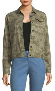 ATM Anthony Thomas Melillo Camo Jean Jacket