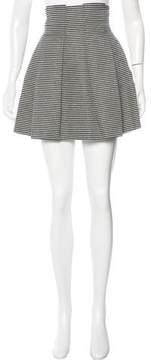 Emporio Armani Jacquard A-Line Skirt
