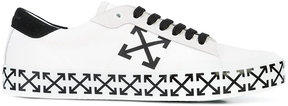 Off-White arrow print low top sneakers