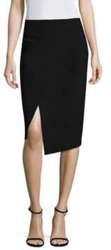 Donna Karan Midi Wrap Skirt