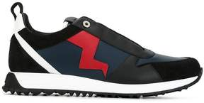 Fendi lightning bolt appliqué sneakers