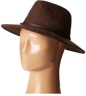 Scala Faux Suede Safari with Braid Safari Hats