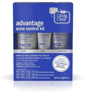 Clean & Clear® Advantage® Acne Treatment Control Kit For Clear Skin