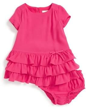 Kate Spade tiered dress & bloomer (Baby Girls)