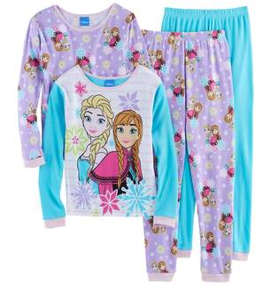 Disney Disney's Frozen Anna & Elsa Girls 4-10 4-pc. Pajama Set