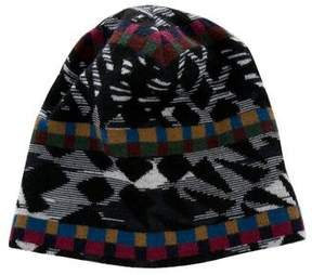 Missoni Wool Abstract Beanie