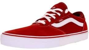 Vans Men's Gilbert Crockett Pro Pompeian Red/White Ankle-High Skateboarding Shoe - 7M
