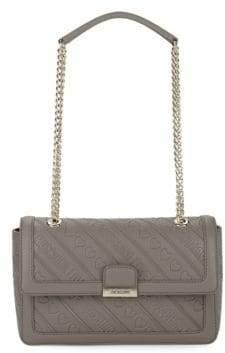 Love Moschino Logo Pattern Shoulder Bag
