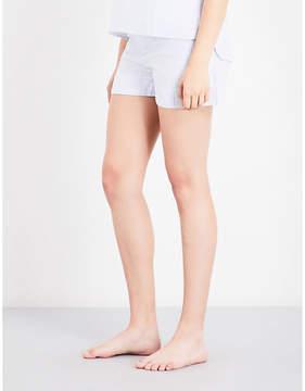 Bodas Striped cotton pyjama shorts