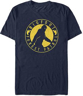 Fifth Sun Navy 'Bigfoot Forest Patrol' Tee - Men