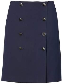Banana Republic Double-Button Skirt