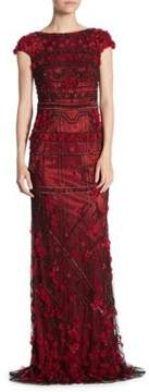 Theia Garnet Mermaid Dress