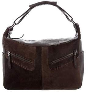 Tod's Ponyhair-Accented Shoulder Bag