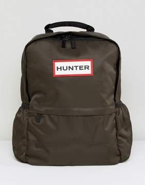 Hunter Olive Nylon Backpack