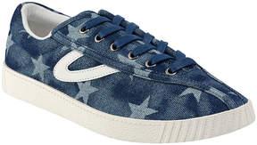 Tretorn Dark Blue Star Nylite Plus Canvas & Suede Sneaker - Men