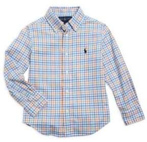 Ralph Lauren Little Boy's& Boy's Performance Oxford Shirt