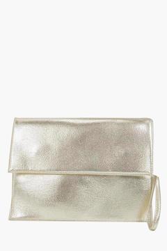 boohoo Jess Oversized Clutch Bag