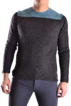 Reign Men's Black Wool Sweater.