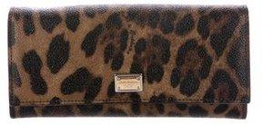 Dolce & Gabbana Leopard Print Flap Wallet - ANIMAL PRINT - STYLE