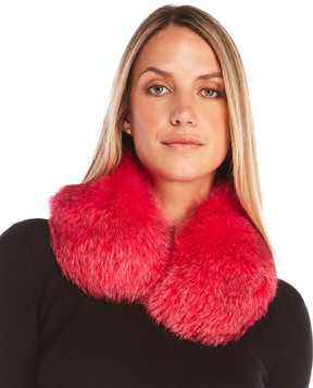 Yves Salomon Real Fox Fur Collar