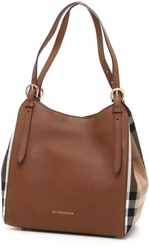 Burberry Small Canterby Bag - TAN|MARRONE - STYLE