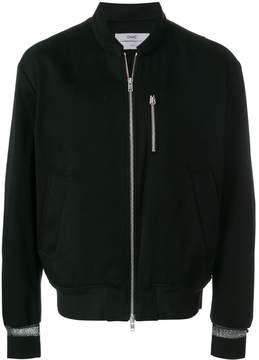 Oamc zip pocket bomber jacket